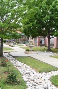 MACC campus - fountain